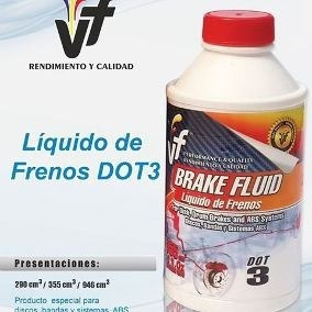 liga para frenos vf dot 3 290 ml