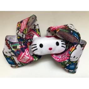 c7813b11903db Moño Pelo Hello Kitty Vans Hellokitty Moños Liston Cabello
