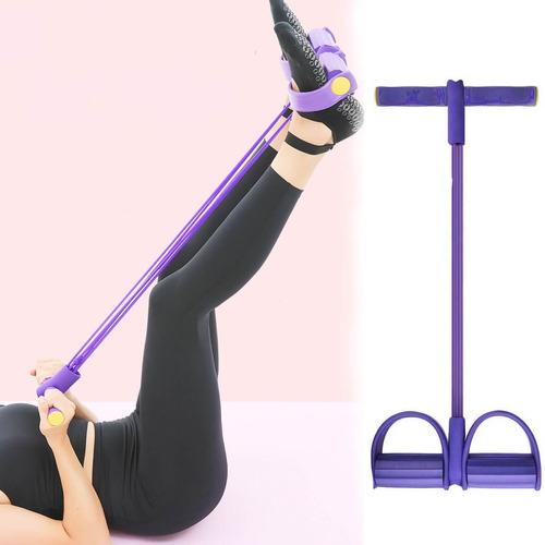 ligas de resistencia piernas ejercicios con bandas elasticas
