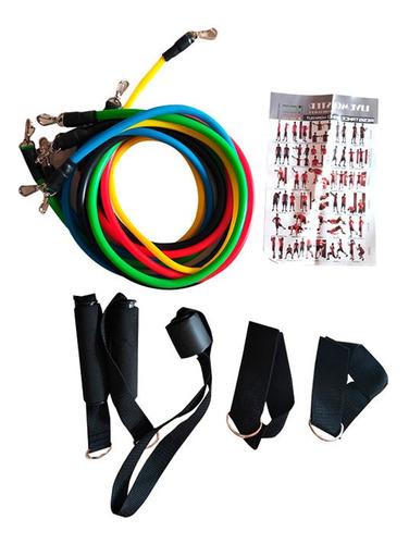 ligas de resistencia power bands 2014-jt-003 5 en 1