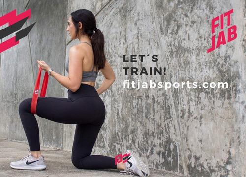 ligas resistencia ejercicio x 5 set completo ,bolsa y manual