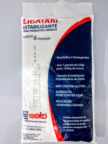 ligatari emulsificante gordura tripolifosfato de sódio