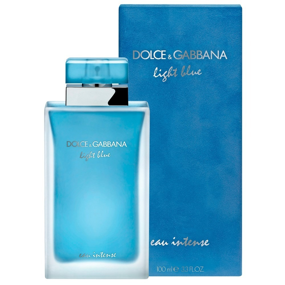 668459e59b Light Blue Eau Intense X 100ml Dolce & Gabbana. S/cargo Caba ...