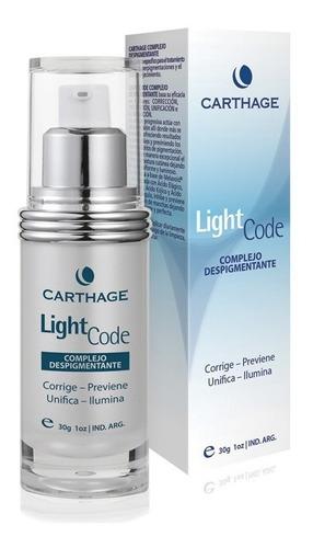 light code complejo despigmentante carthage