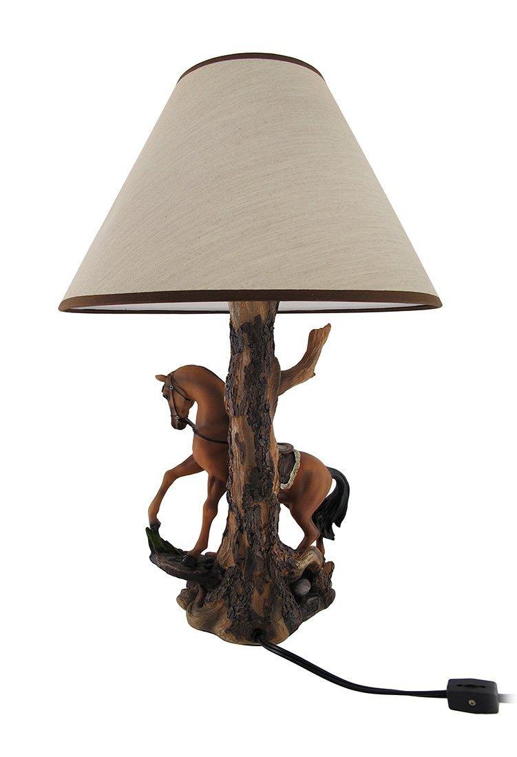 Light fantastik saddled horse table lamp with printed fabr horse table lamp with printed fabr cargando zoom aloadofball Gallery