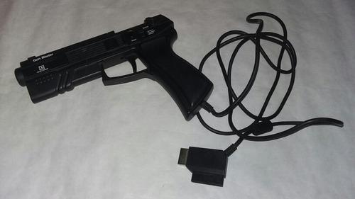 light gun pistola sega saturn playstation