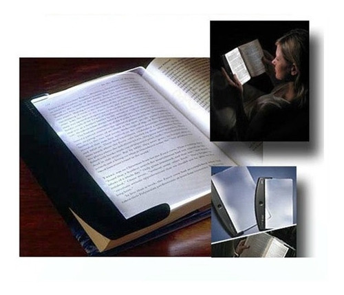 light panel luz de mao portatil para livros e textos led not