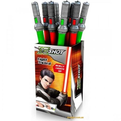 light swords espada luminosa x-shot juguetería del tomate