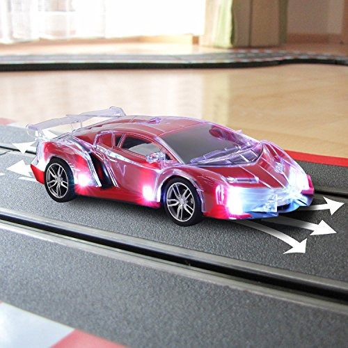 light up rc control remoto coche para niños con parpadeo de