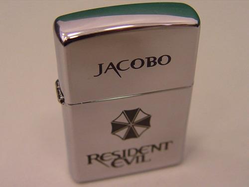 lighter encendedor zippo cromo personalizado grabado a láser