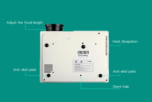 lightinthebox proyector 3d de 3500 lúmenes de larga duración