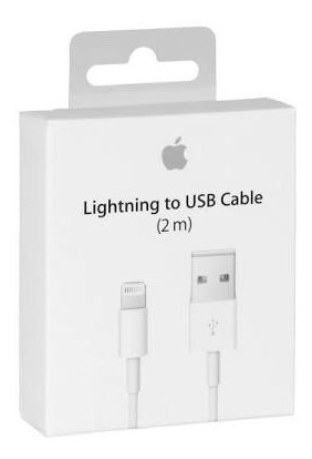 lightning to usb cable (2m) - 100% original - delivery perú