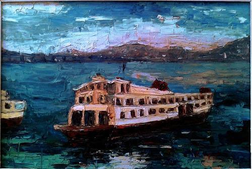 ligia spinelli - pintura os eucatex barca da cantareira ass.