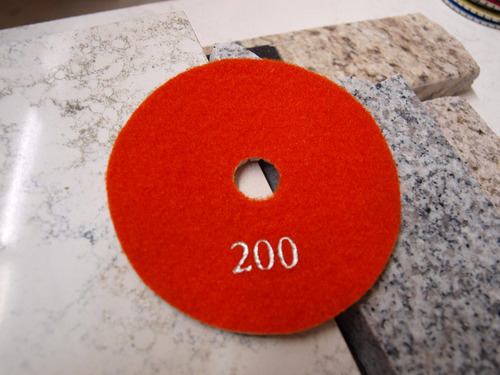 lija diamantada 4   humedo o seco pad pulir granito marmol