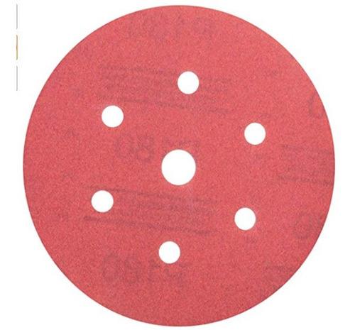 lija grano 180 c/abrojo 6  01143 caja x50 pz 3m
