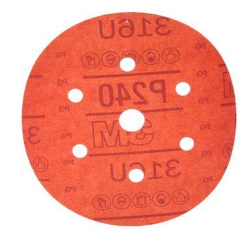 lija grano 240 c/abrojo 6   - 01141 - 3m- caja x50pz