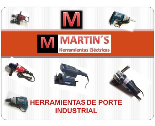 lijadora angular 5  125 mm mh 1040  martins ind. argentina