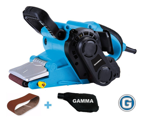lijadora banda electrica 800w 75x457mm gamma con bolsa recol