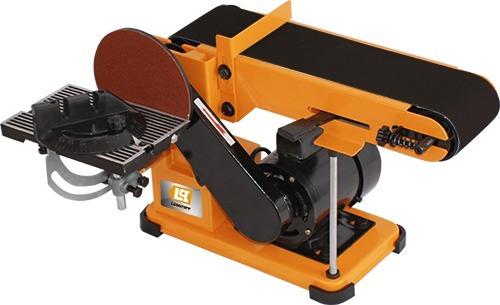 lijadora de banco banda y disco lusqtoff lqlb-250 440w