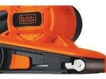 lijadora de banda 680w black decker br318 black + decker