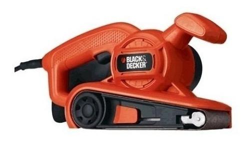 lijadora de banda black decker 680w lija 75 x 457mm br318.