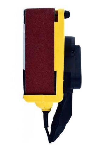 lijadora de banda o cinta 900w 3x21  madera sb90 stanley