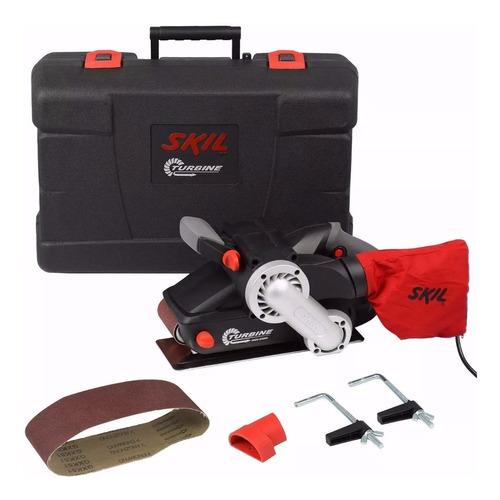lijadora de banda skil 7640 - 900w + maletín + guantes