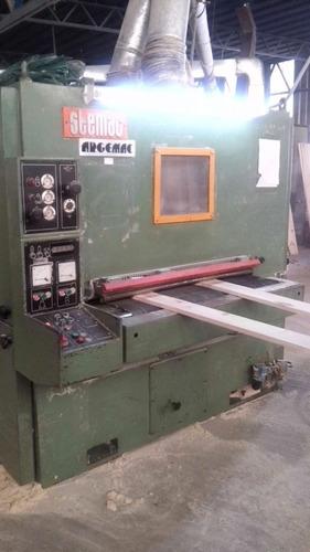lijadora de contacto doble banda-maquinas carpinteria/madera