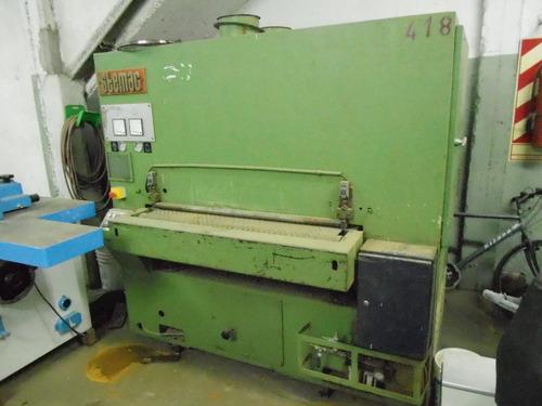 lijadora de contacto maquinas de carpinteria jfr - madera