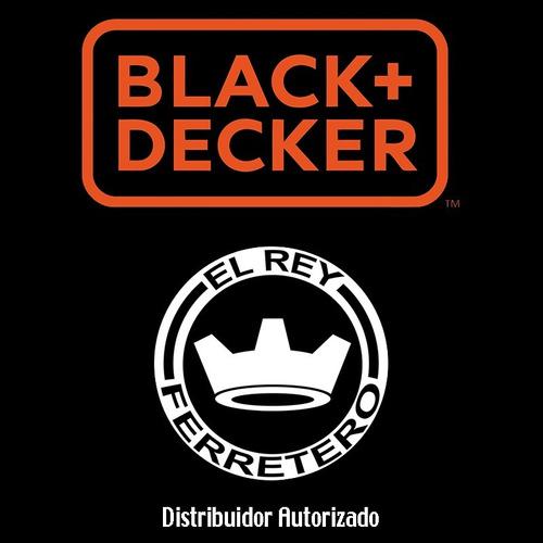 lijadora orbital aleatorio 5'' bdero100-b3 black+decker