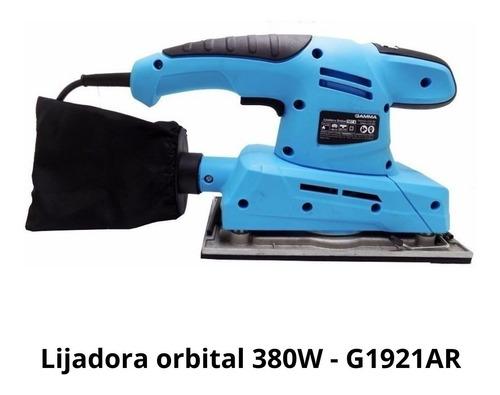 lijadora orbital gamma 380w g1921ar oferta!!!