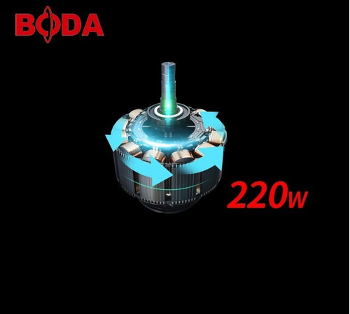 lijadora orbital industrial boda s6-100 220w 100x110mm