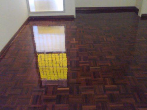 lijados plastificados y vitrificados de pisos de parquet