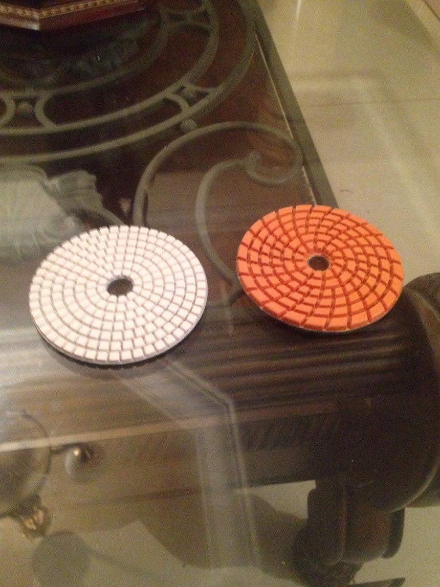 Lijas de diamante para pulir marmol granito de la mas for Como pulir marmol