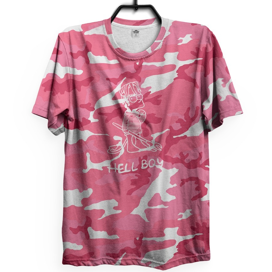 lil peep camiseta hellboy cool camo benz truck gustav gbc. Carregando zoom. 553838456a90
