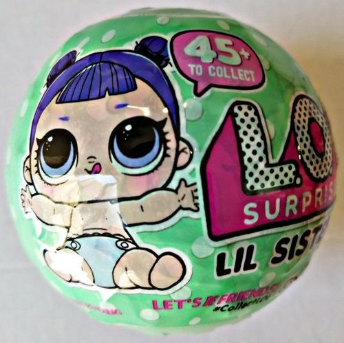 lil sister lol surprise muñeca 5 pasos serie 2 envio gratis