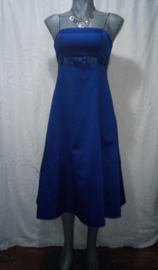 Vestidos de coctel en azul rey