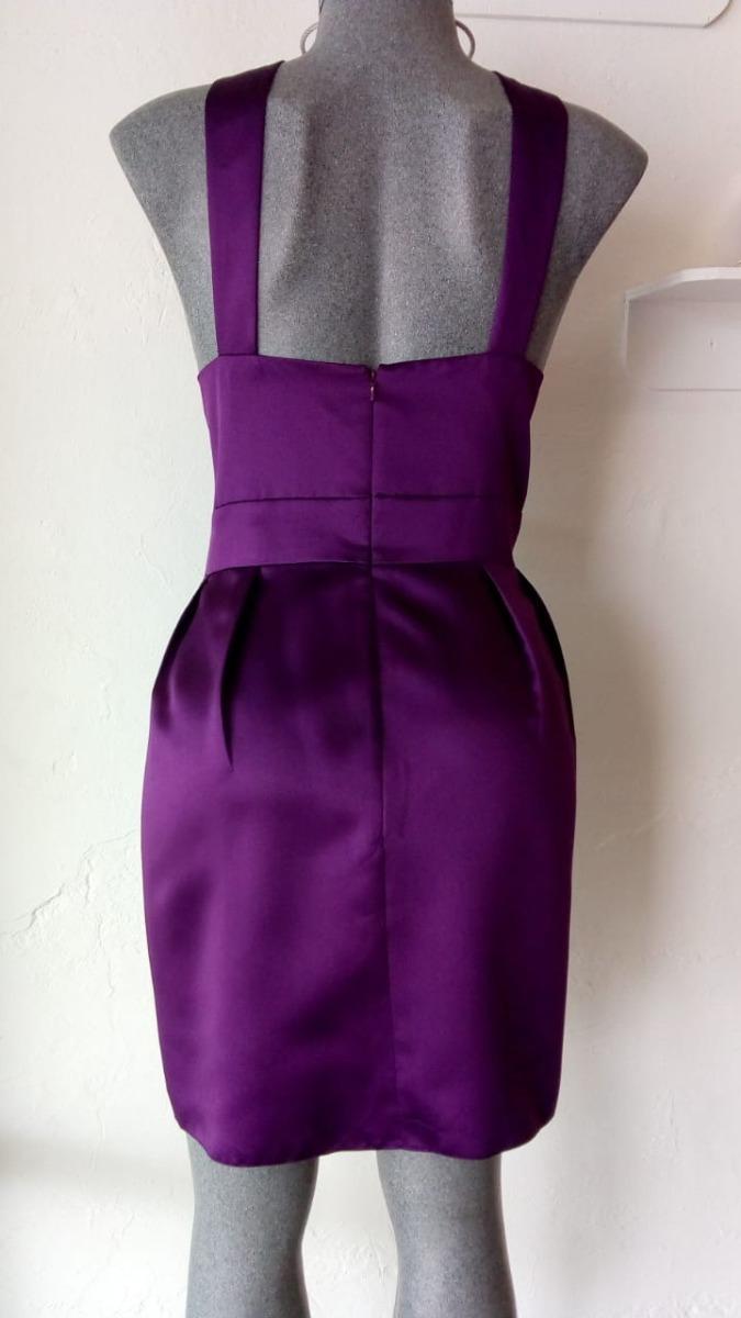Lilasori Vestido Cóctel Importado Jasmine Color Morado T 38 ...