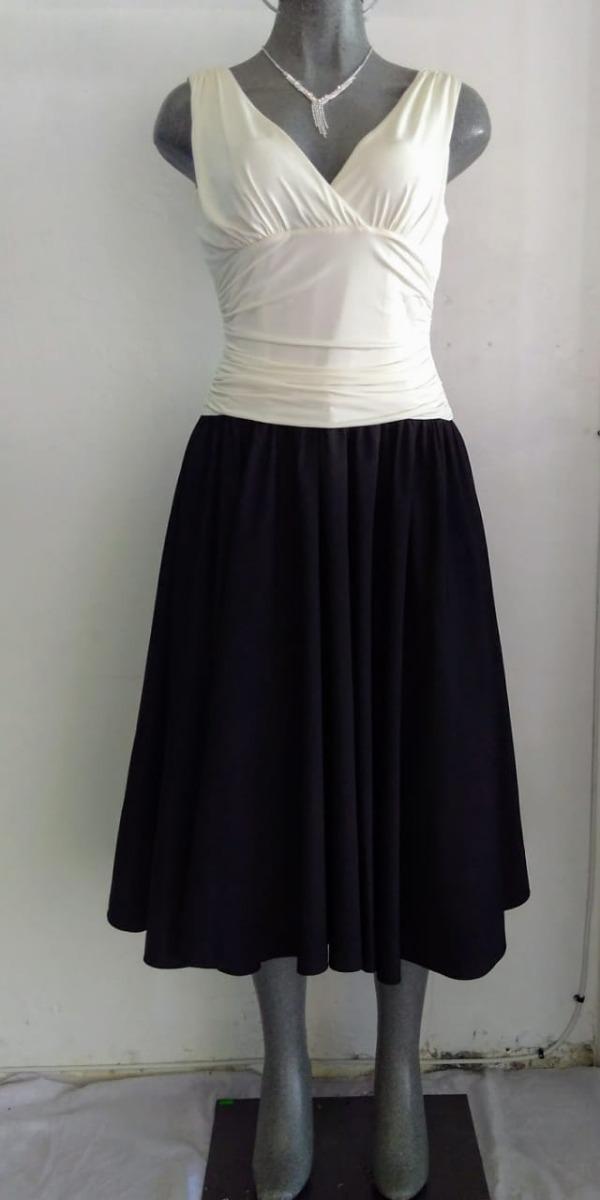 Lilasori Vestido Cóctel Importado Negro hueso Talla 9 O 32 ... caac7db995a4