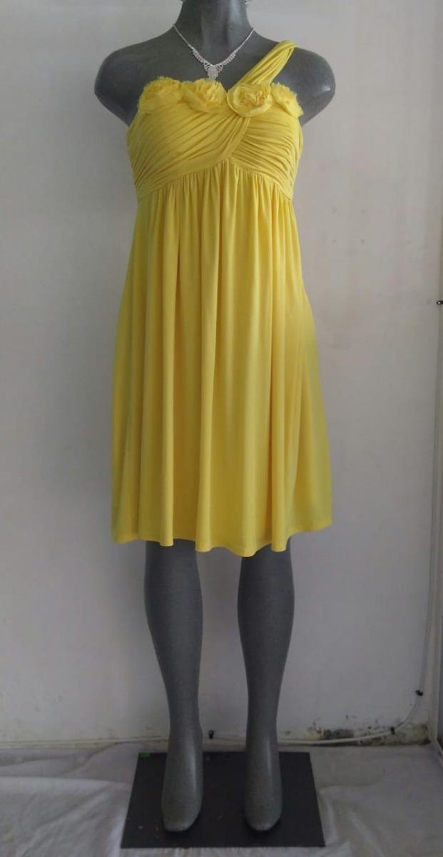 5ded0126b02 lilasori vestido cóctel importado oleg cassini amarillo t 9. Cargando zoom.