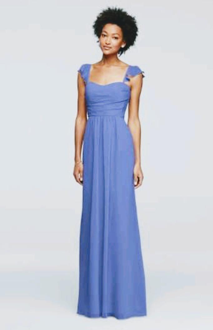Vestido Fiesta Bridal 7550 00 De Azul Talla Davids Lilasori En rdxoeBCW
