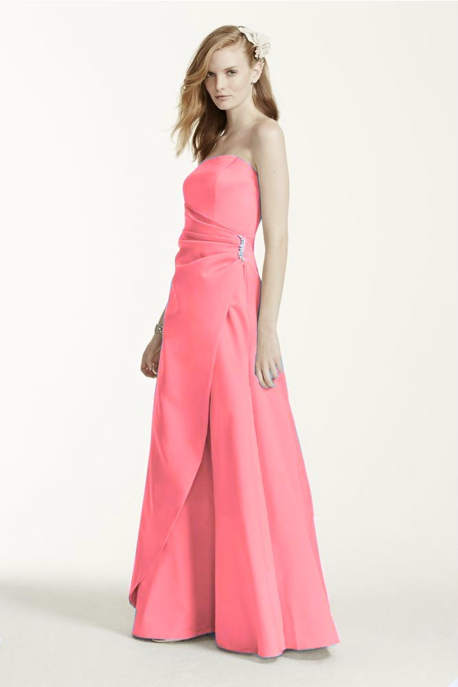 Lilasori Vestido De Fiesta Importado Color Coral Talla 7 - $ 399.00 ...