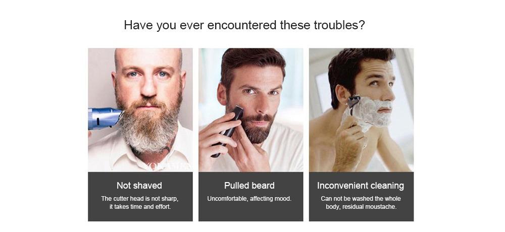 lili maquinilla de afeitar eléctrica de barba recargable. Cargando zoom. 5e9318cc1b81
