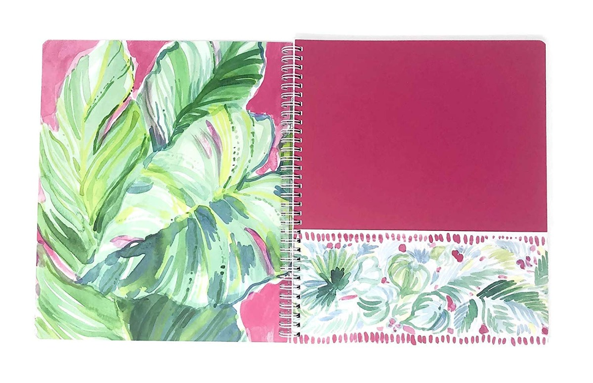 Lilly Pulitzer Women S Large College Ruled Notebook Aq