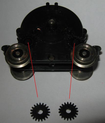 lima 2 engranajes ho nº2 repuesto de motor