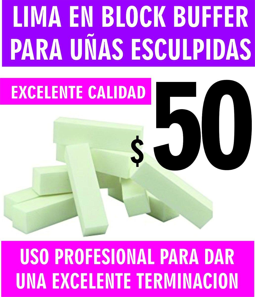 Lima Buffer Bloque Pulidor De Uñas Profesional - $ 50,00 en Mercado ...