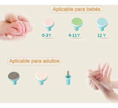 lima eléctrica corta uñas bebé - unidad a $54990