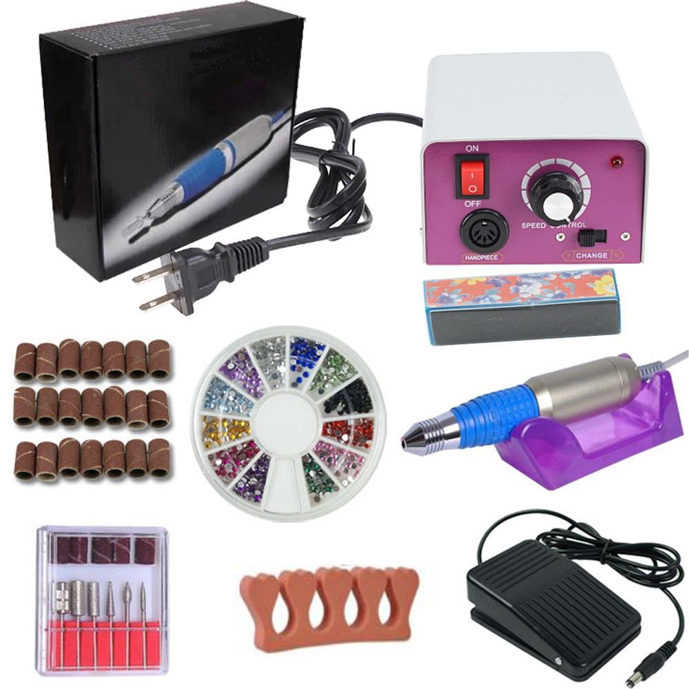 Lima Eléctrica Para Uñas Imeshbean Máquina P/decorar Uñas - $ 64.08 ...