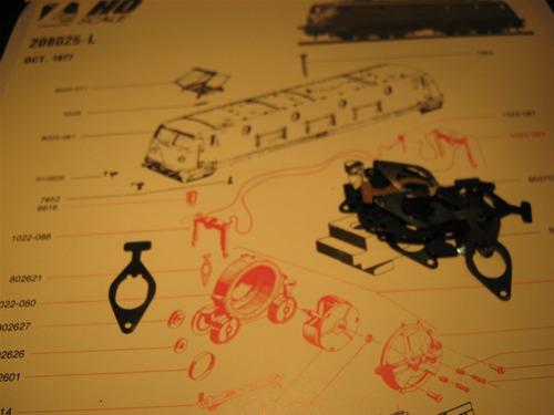 lima sujetador engranajes de motor (a) ho 1 pieza original