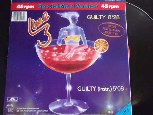 lime- guilty (special new club-mix).-